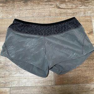 Smartwool | gray & black workout shorts
